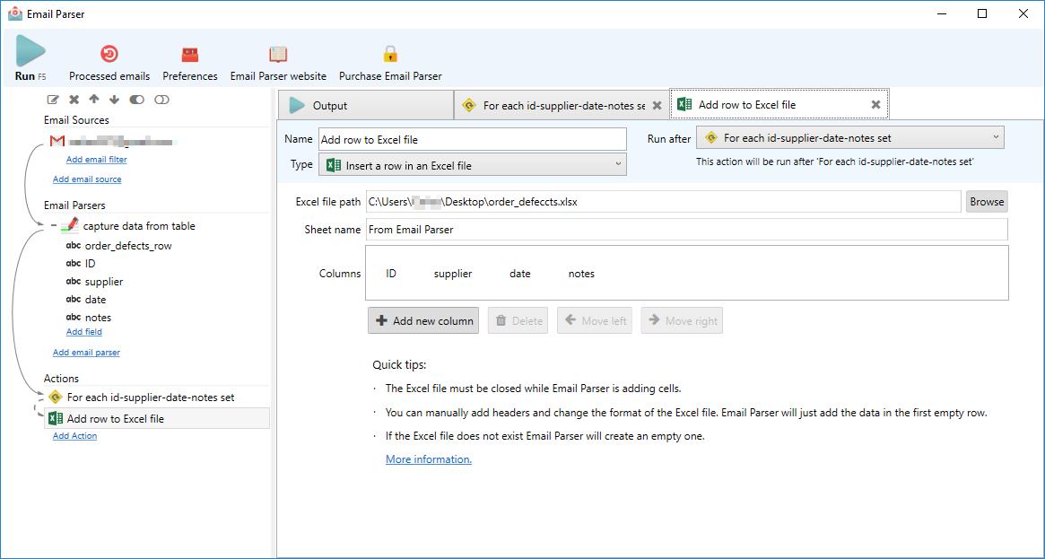 Email Parser 4.8